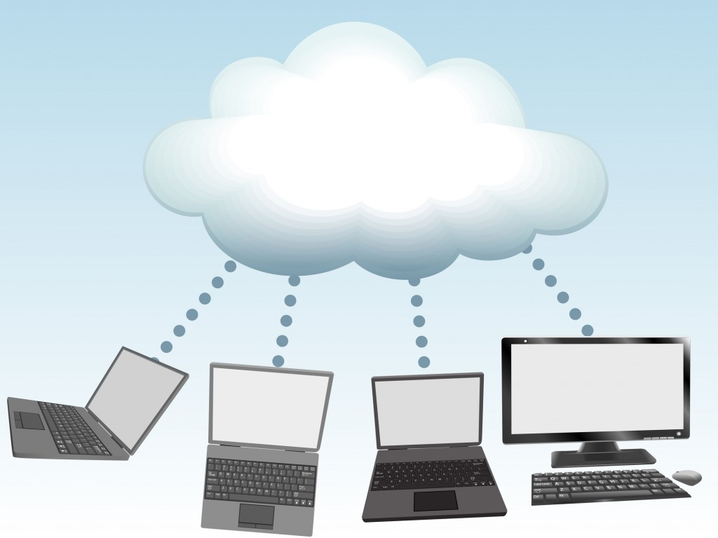 Cloud Computing 4 laptops