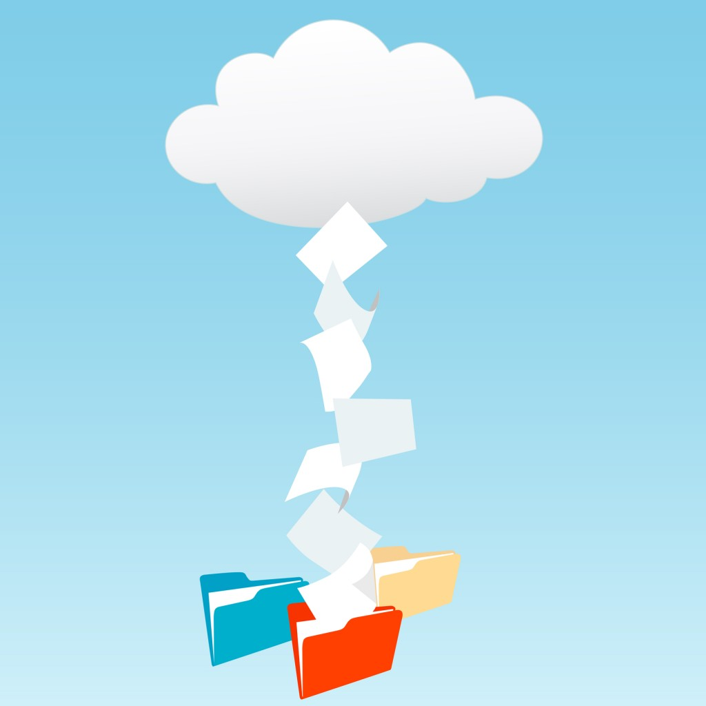 Files to the cloud